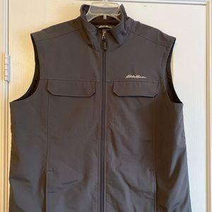 Men's Eddie Bauer charcoal vest